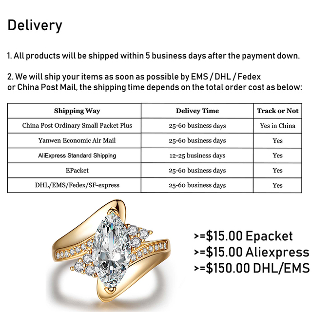 Luxurious Engagement/ Statement Ring 3