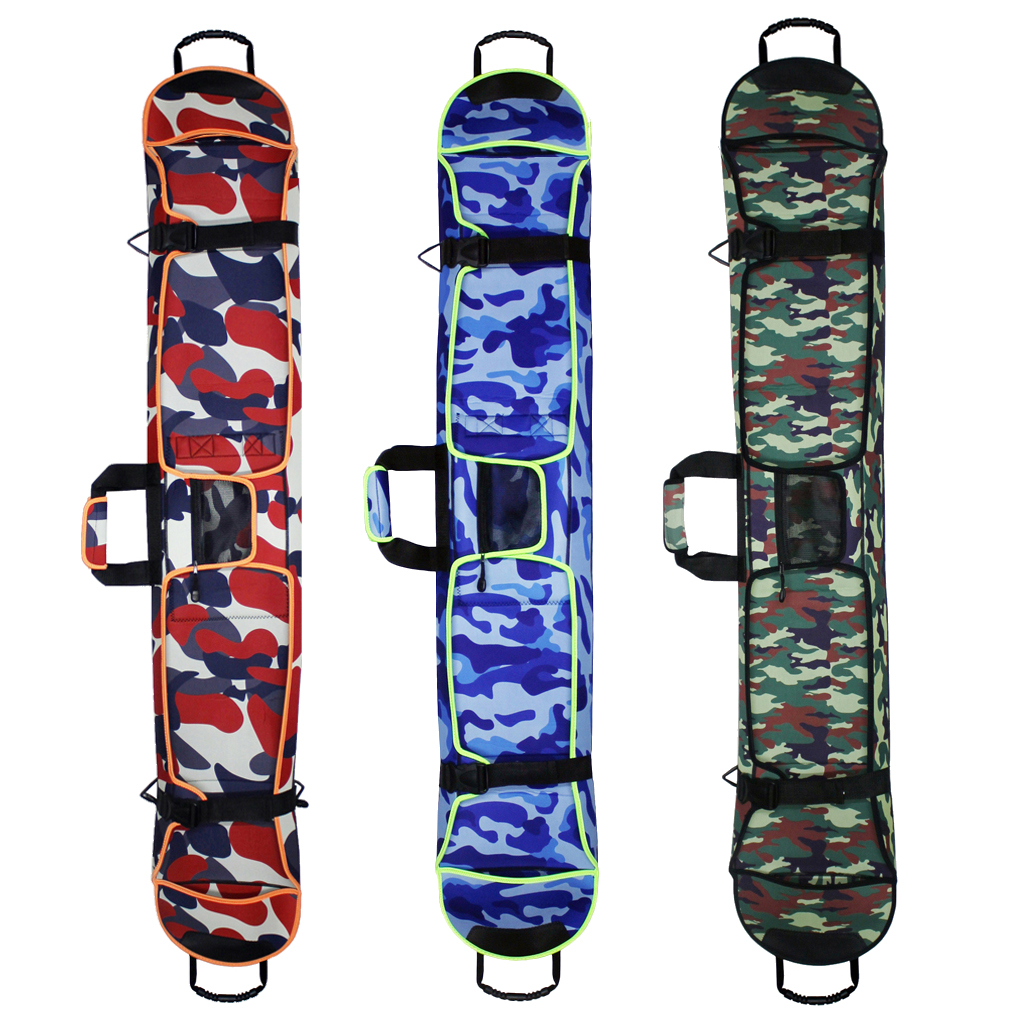 Premium Snowboard Cover Waterproof Ski Bag With Shoulder Strap Snowboarding Carry Adjustable