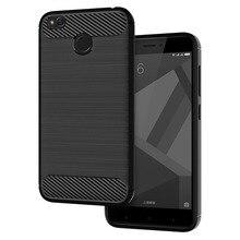 Case For Redmi Note 4x Case Xiaomi Redmi 4x Case Silicone TPU Bumper Shockproof Carbon Fiber Cover for Redmi 4x Cases Capa Coque