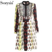 Svoryxiu Dress Women's Collar