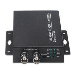Hd bnc video converter Auto Anerkennung 4K 1080P TVI 8MP AHD 5MP CVI CVBS zu HDMI Konverter Für kamera CCTV Tester Konverter