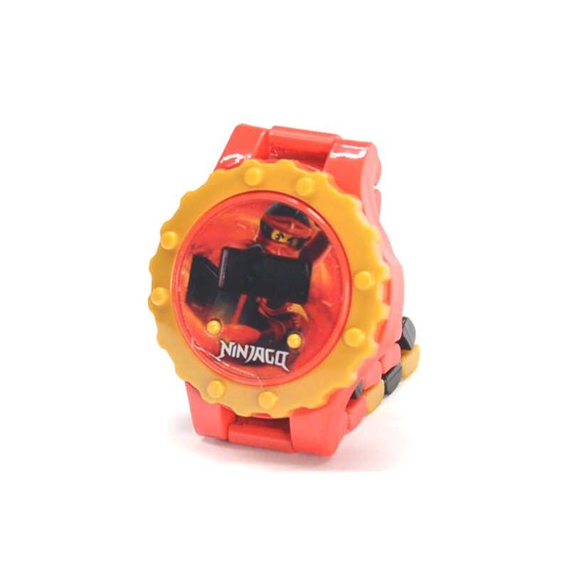 닌자 빌딩 블록 시리즈 시계 배트맨 아이언 맨 스파이더 맨 호환 Ninjagoing 완구 어린이 선물