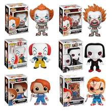 Funko Pop Anime films Stephen King It Joker Clown à collectionner film modèle enfants jouets pour enfants poupées en vinyle Figure jouets(China)