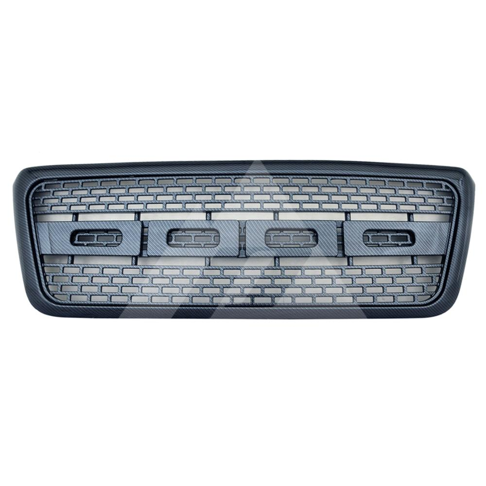 for 2004 2005 <font><b>2006</b></font> 2007 2008 <font><b>Ford</b></font> <font><b>F150</b></font> ABS Carbon Fiber Raptor Packaged Grille image