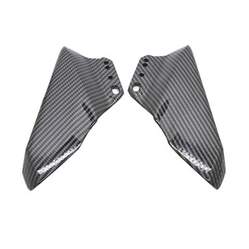 Motorcycle Winglet Carbon Color ABS Wing Kit Spoiler plastic For Ninja400 CBR600RR CBR1000RR 2012 2013 2014 2015-2019