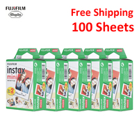 Original 100 Sheets Fujifilm Instax Mini Film Photo Paper Snapshot Album Instant Print for Fujifilm Instax Mini 7s/8/25/90/9