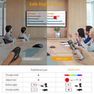 Image 5 - Hervorhebung Wireless Presenter, Doosl Erweiterte Präsentation Fernbedienung mit Digital Hervorhebung Vergrößern, 98FT Palette, 2,4 GHz