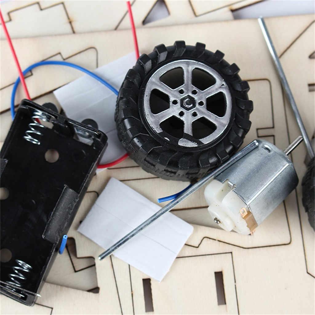 DIY Montage Drahtlose Fernbedienung Racing Auto Modell Kit Physikalische Wissenschaft Experimente Technologie Pädagogisches Spielzeug Für Kinder