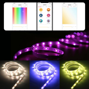 Image 2 - Yeelight אורורה חכם אור רצועת בתוספת YLDD04YL 2m LED RGB WiFi חכם בית תפאורה אור עבודה עם Alexa Google עוזר Mi הבית