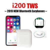 I200 tws Bluetooth 5.0 écouteur casque PK W1 H1 fonction de capteur écouteurs sans fil charge basse PK i12 i 60 i800 i100 i1000 TWS