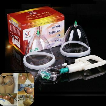 Насос для увеличения груди и ягодиц, вакуумные всасывающие банки, всасывание, массажное устройство, инструменты, массажные чашки для тела