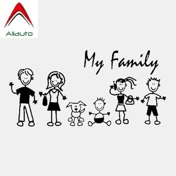 Aliauto Fashion Car Sticker My Family My Mom Kid Baby Cat Dog Pet Automobiles & Motorcycles Decoration Vinyl Decal,20cm*10cm car sticker dont touch my car fun automobiles