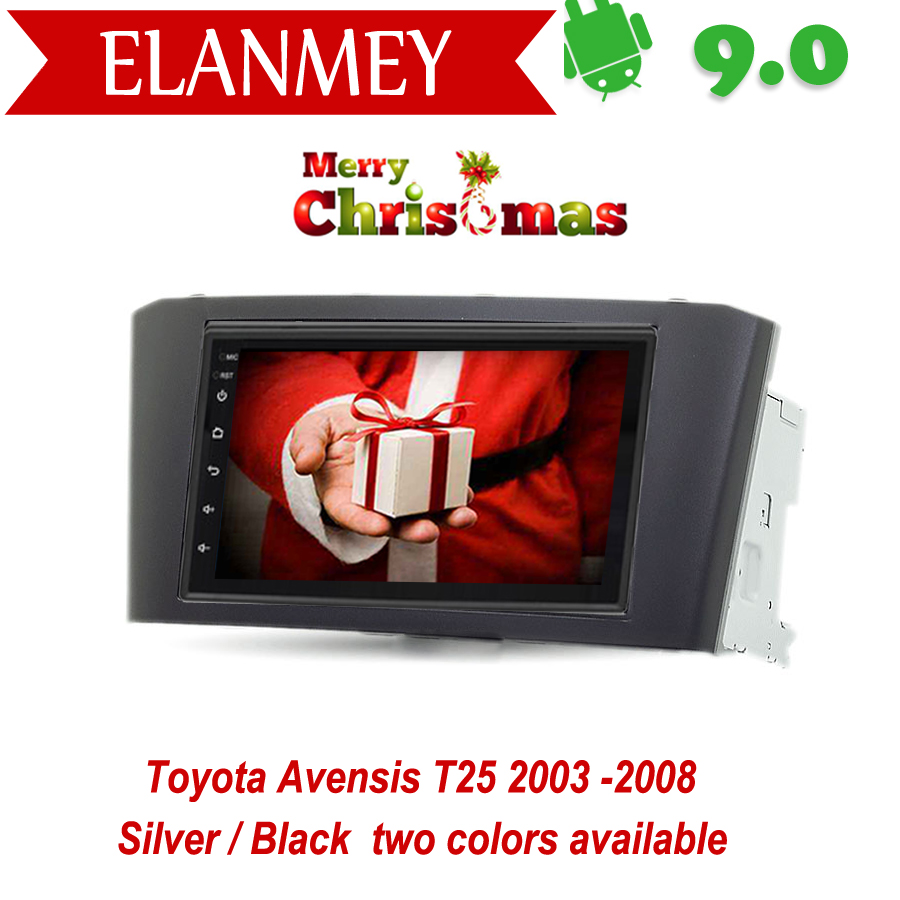 Branded Genuine <font><b>Android</b></font> 9.0 Car Radio for <font><b>Toyota</b></font> Avensis <font><b>T25</b></font> 2003 2004-2008 car gps navigation Car Multimedia Vehicle recorder image