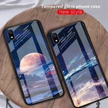 Tempered Glass Case For Xiaomi Redmi Note 7 5 6 K20 Pro 7A Pocophone F1 Mi8 Mi A2 Lite 6X 5X Mi9 5X Mix 3 Cover Protective Funda все цены