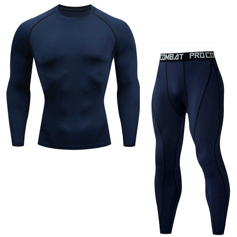 Ausbildung sportswear laufen shirts Engen Basis schicht Fitness leggings Kompression Mann bodybuilding Hemd Voll Man Trainingsanzug XXXXL
