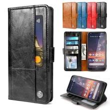 Для Nokia 7,2 чехол из матовой кожи защитный флип чехол с подставкой противоударный защитный чехол для Nokia 7,2 чехол с отделением для карт