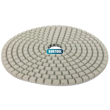 White Buff Polishing Pad Wet  For Granite,Marble And Engineered Stone