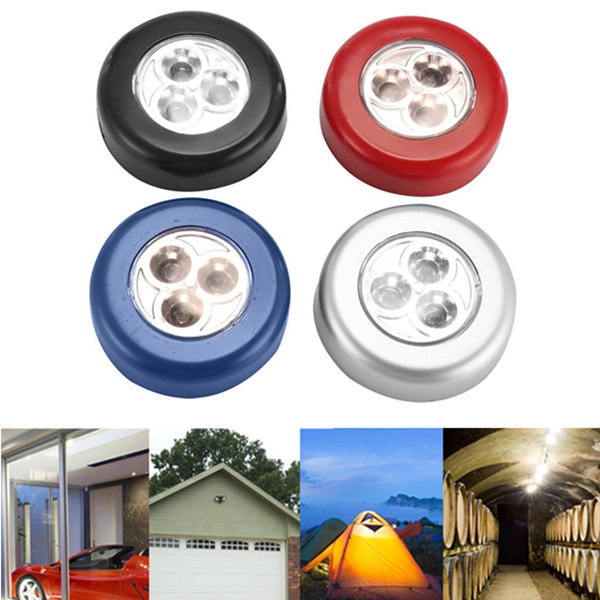 LED Cabinet Light Kitchen Bedroom Cupboard Light Wireless Magnetic Corridor Stair Light Night Lamp 1