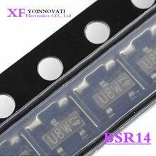 20 قطعة/الوحدة BSR14 SOT23 3 سوت 23 IC جديد الأصلي