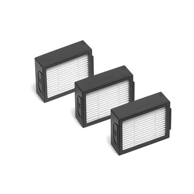 6*Hepa Filter+6*Side Brush+4*Brush Roll Replacement for iRobot Roomba i7 E5 E6 I Series Robot Vacuum Cleaner Spare Parts