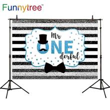 Baby Shower Background Party-Decoration Photo-Studio Onederful First Birthday Photocall