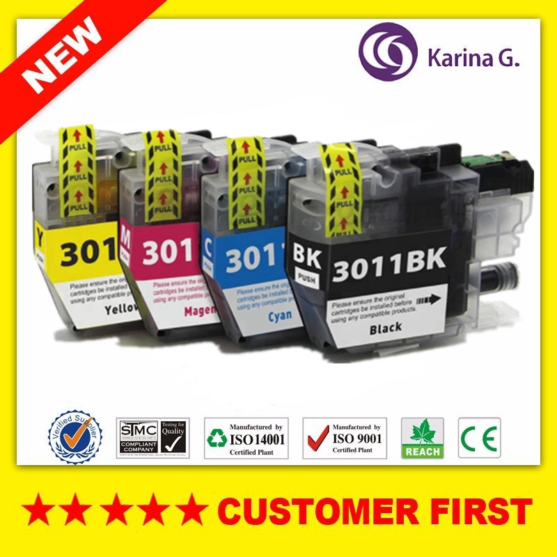Compatible For Brother LC3011 Ink Cartridge Suit For  MFC-J491DW MFC-J497DW MFC-J690DW MFC-J895DW Etc.