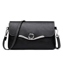 цена на Hot Sale Women Handbags PU Leather Tote Famous Brand Fashion Shoulder Bag Designer Ladies Luxury Messenger Bag Bolsa Feminina