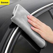 Baseus洗車タオルマイクロファイバー自動クリーニング乾燥布ヘミングカーケアディテール洗車アクセサリー洗車タオル