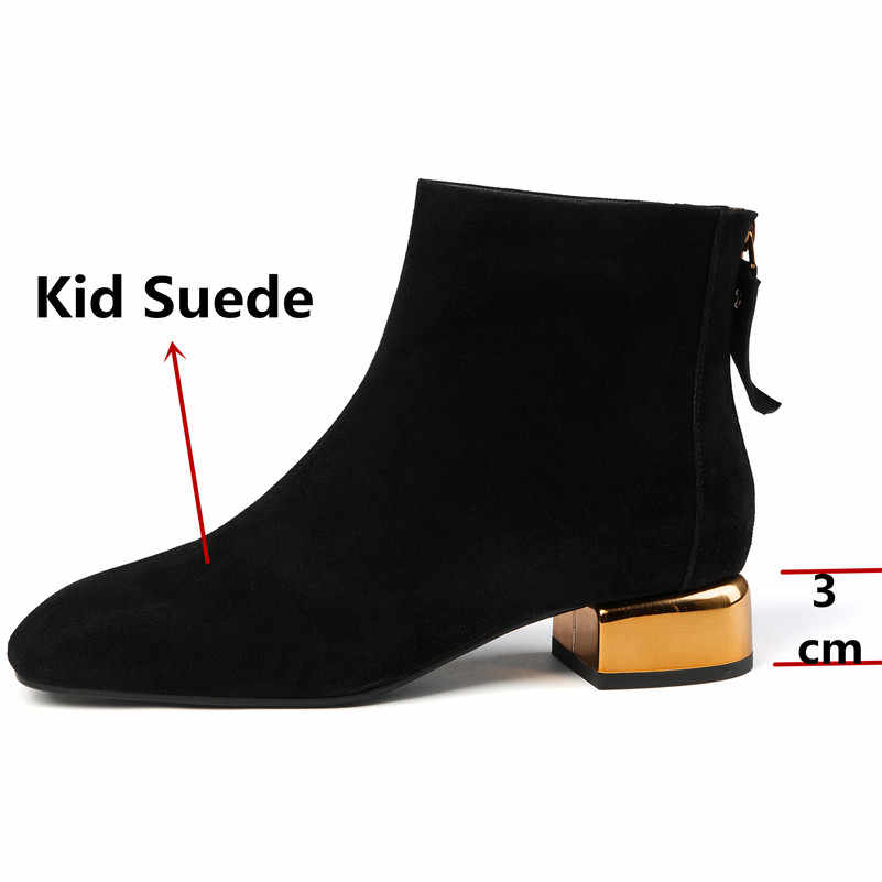FEDONAS 2020 איכות ילד זמש נשי קצר מגפי Classis צ 'לסי מגפי ריקוד נעלי אישה סתיו חורף חם נשים קרסול מגפיים