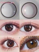 Cherrycon 2 с принтами маленькими звездами коричневые контактные