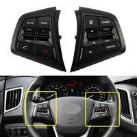 For Hyundai CRETA ix25 2.0 L Cruise Control Button Modified Dedicated Multi-function Steering Wheel Button Bluetooth Phone