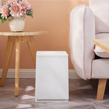 Pressing Type Plastic Trash Can Garbage Bin Waste Rubbish Dustbin For Home  Waste Bins Household Cleaning bathroom trash can
