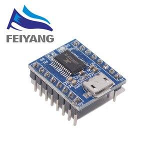 Image 1 - 10 шт. JQ6500 модуль голосовой звуковой платы USB DIP16 TTL UART MP3 Breakout Замена One to 5 Way MP3 Voice 3,2 5V 20mA