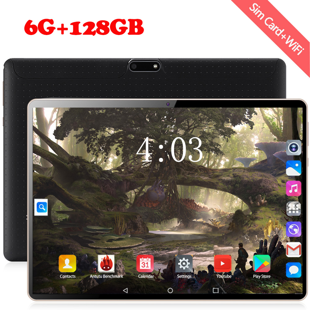 2020 4G Phable Android 8.0 128GB Global Bluetooth Wifi 10 Inch Tablet Octa Core 6GB RAM 64GB 128GB ROM Dual SIM Cards Tablet 10