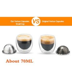 Image 5 - Plastry VIP do Nespresso Vertuo Vertuoline Plus GCA1 Delonghi ENV135 kapsułka wielokrotnego użytku ze stali nierdzewnej wielokrotnego użytku