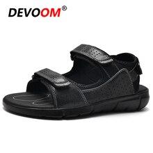 Outdoor Men Sandals Summer Breathable Rubber Sole Beach Sport Men Shoes 2020 Comfort Soft Walking Hi