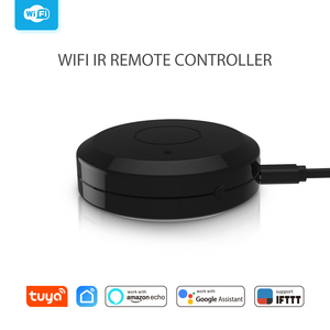 Image 5 - Tuya Wifi Smart IR Remote Controller Compatible with Alexa Google Home Smart Home Air Conditioner TV Fan STB Infrared Products