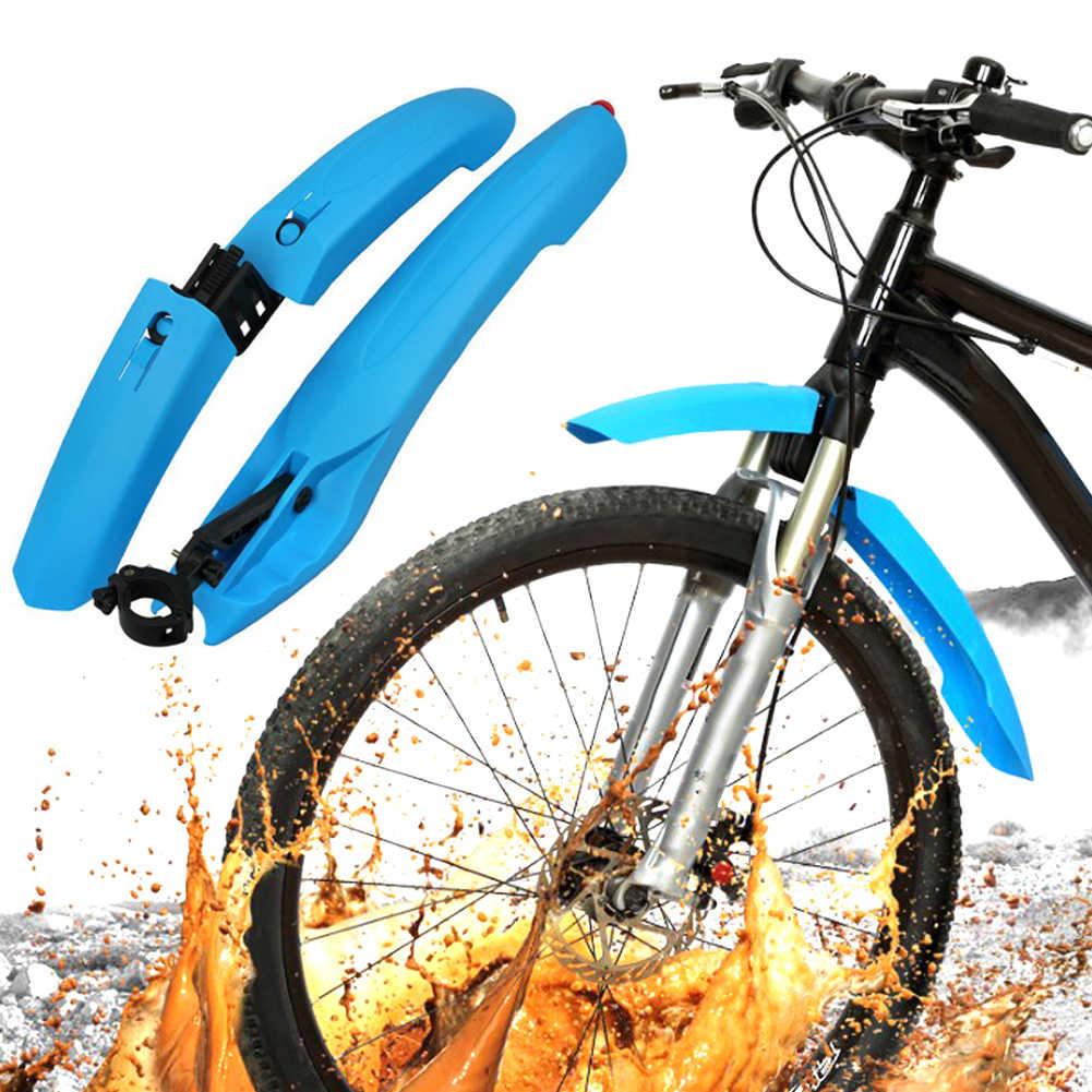 Bicicleta fender taillight fender ciclismo mountain bike lama guardas mtb paralama 3 cores asas para acessórios da bicicleta