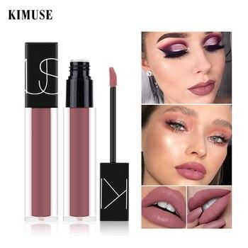 цена на KIMUSE Liquid Lipstick Lip Gloss Matte Lipstick Long-lasting Waterproof Nutritious Liquid Lip Tint Lip Glaze Lips Makeup