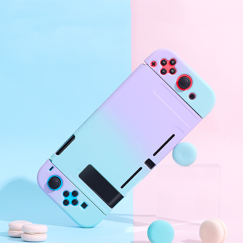 Mod-X for Nintendo Switch Case NS Console Protective Hard Case Shell for NintendoSwitch JoyCon Joy Con Mix Colorful Pink Cover