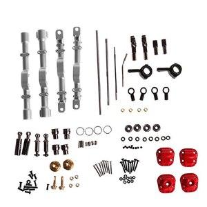 Image 1 - Toptan fiyat yeni MN modeli 1:12 D90 D91 4x4 ön arka RC araba yedek parçaları yükseltme Metal aks konut değiştirme aksesuarları