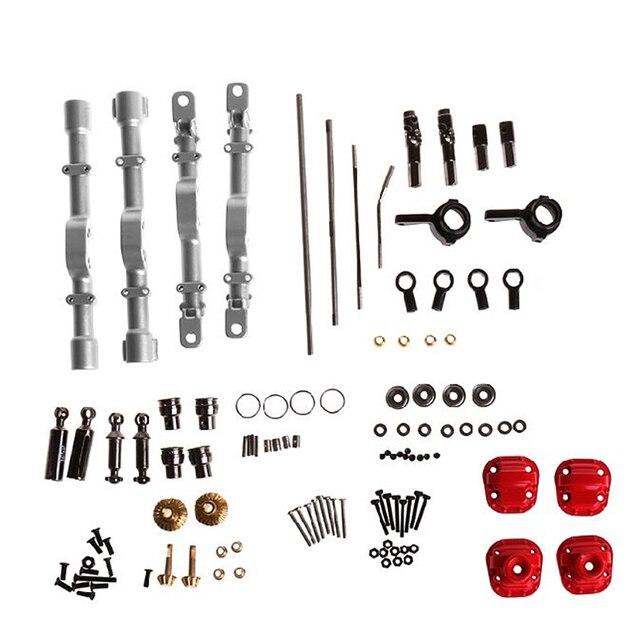 Toptan fiyat yeni MN modeli 1:12 D90 D91 4x4 ön arka RC araba yedek parçaları yükseltme Metal aks konut değiştirme aksesuarları