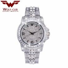 WOLF-CUB Dazzling series Women Luxury quartz Watches Ladies