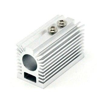 цена на Silver Heat Sink Heatsink Holder for Dia 12mm Blue/Green/Red/IR Laser Modules Cooling