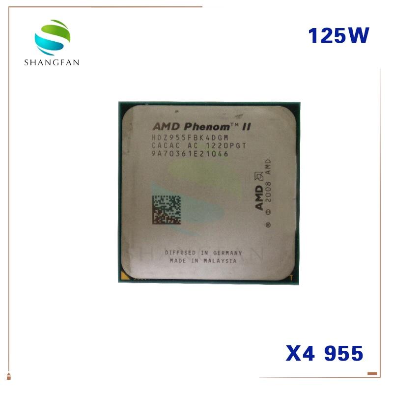 125w 960t Socket Am3 Cpu Processor Amd Phenom Ii X4 925 945 955