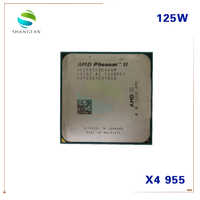 AMD Phenom II X4 955 125W Quad-Core CPU de bureau HDZ955FBK4DGM HDZ955FBK4DGI HDX955FBK4DGM Socket AM3