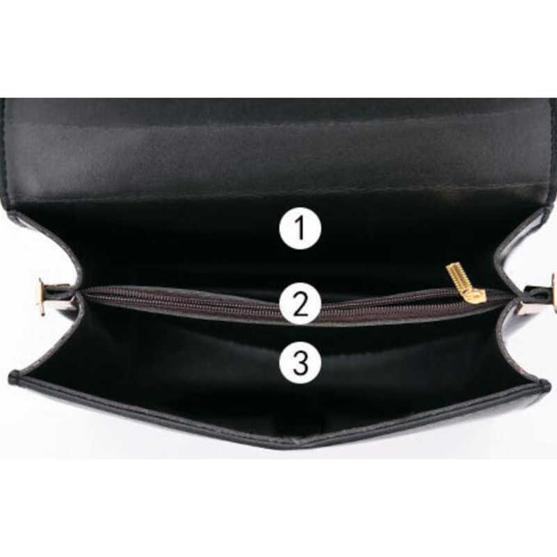 Nueva tela escocesa Retro pequeño cuadrado paquete minimalista moda costura salvaje mensajero bolso de hombro Ms. Packet