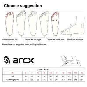 Image 5 - ARCX 防水リアル革クライミングハイキングシューズブーツオートバイ安全ギアレーシングブーツストリートツーリング乗馬靴