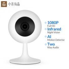 Youpin Xiaobai Smart Ip Webcam Populaire Versie 110 Hoek 1080P Hd Nachtzicht Draadloze Wifi Smart Home Cam Voor werkt Met Mijia