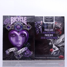 1 Deck Bicycle Anne Stokes V2 Playing Cards Collectable Poker Magia Close Up Stage Magic Tricks Props for Professional Magician smoke ego mini magic tricks magician magia revolutionary smoke device stage close up party bar illusion gimmick prop mentalism